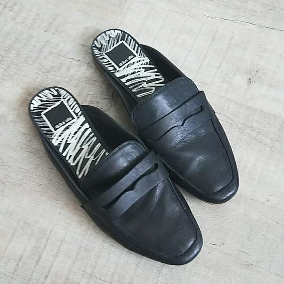 8780dbec9bb6 Dolce Vita Shoes | Cybil Square Moc Toe Loafer Mule Slide | Poshmark